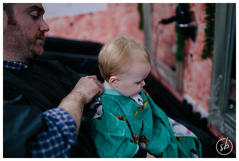 {Personal} Tom's First Haircut