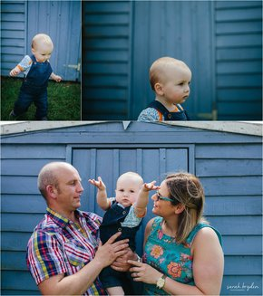 Family Portrait Photography- At Home Session
