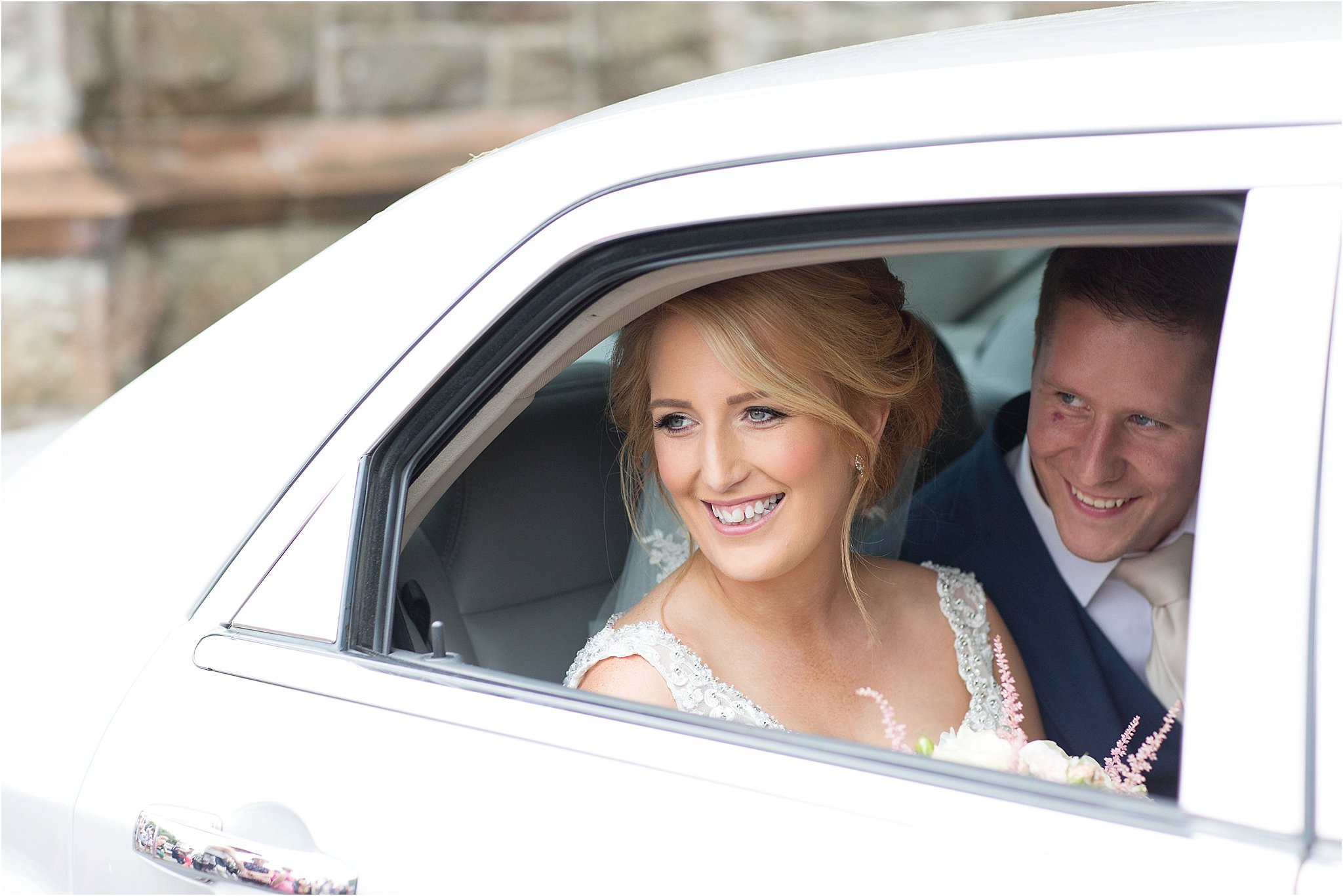 Omagh to Enniskillen Wedding with country chic style