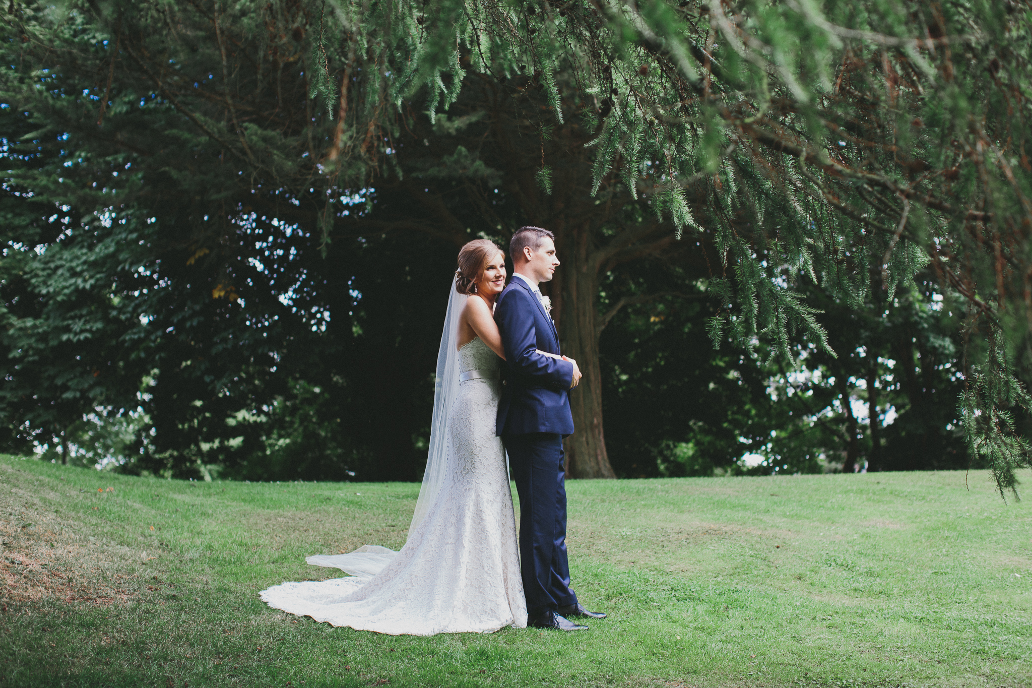 Newlywed Portraits in Omagh, County Tyrone Wedding Photographer